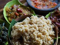 "Nasi Tiwul"" Nasi khas Desa Dengan Cita rasa Istimewa"""