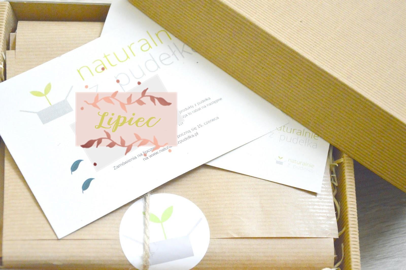 edycja lipcowa pudełka, kosmetyki naturalne