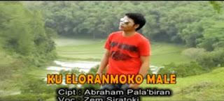 Lirik Lagu Toraja Ku Eloranmoko Male (Zem Siratoki)