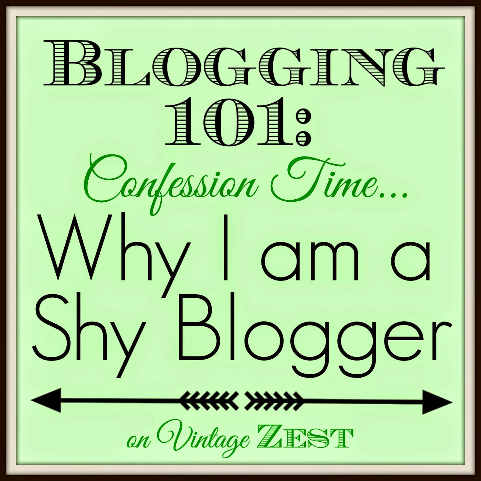 Why I Am Shy Blogger