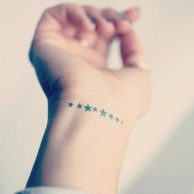 Tatuajes de estrellas femeninos super lindos