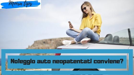i neopatentati possono noleggiare auto