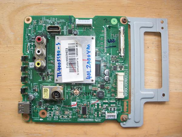 SPAREPART LED TOSHIBA 40L2400VM MAINBOARD