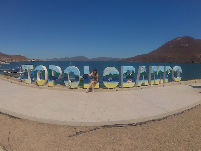 Sign: Topolobampo