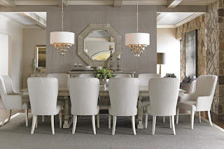 Baer's Furntiure elegant dining room furniture