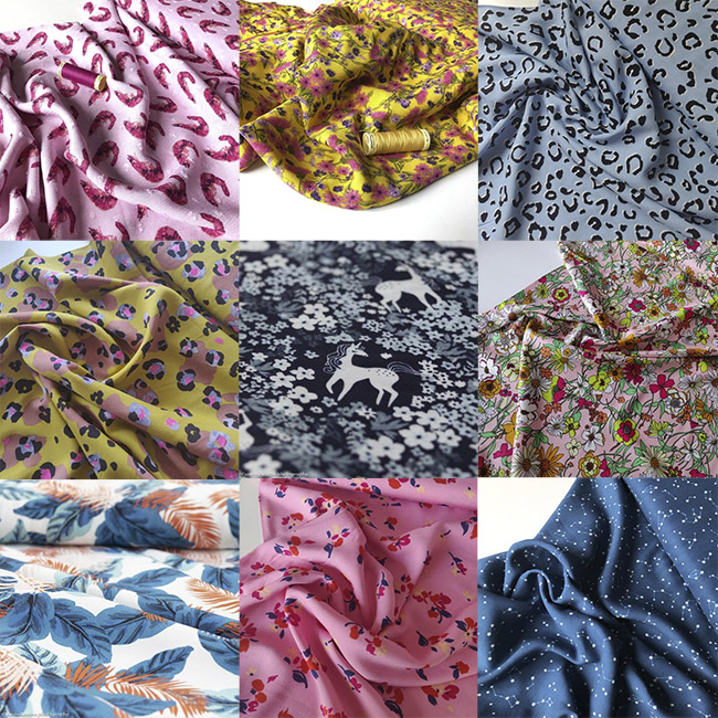 Fabric shopping for the Jaimie pyjamas - Tilly and the Buttons