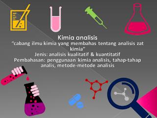 pengertian Kimia Analisis, Jenis, Tahap-tahap, Manfaat, dan Metode Analisis Kimia