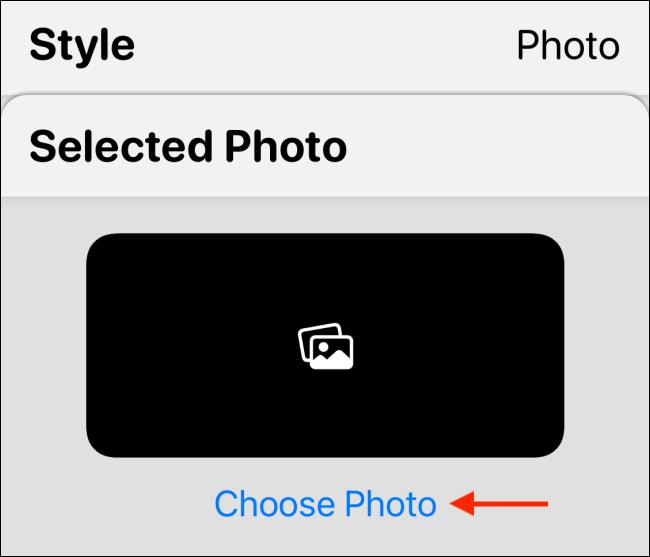 اضغط على اختيار صورة