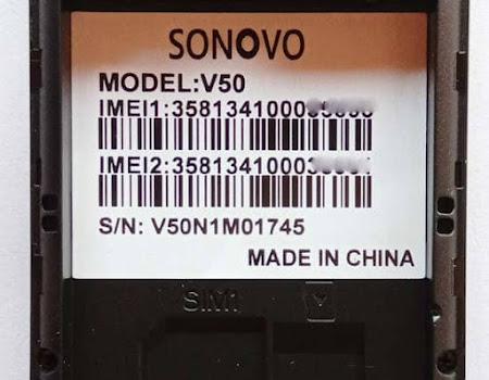 Sonovo V50 Flash File Download SC6531E 100% Tested