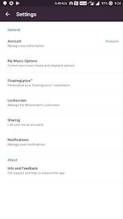 MusixMatch v7.0.2 Premium