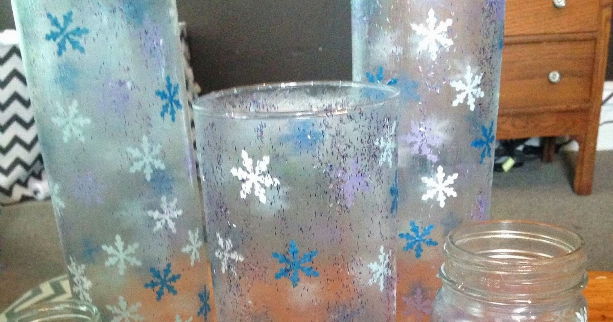 The Dabbling Crafter Diy Sunday Snowflake Jars And