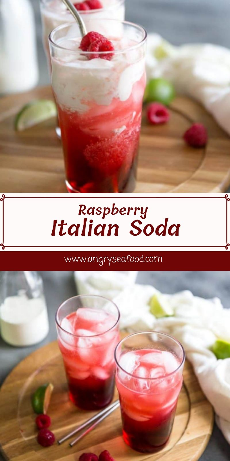Raspberry Italian Soda