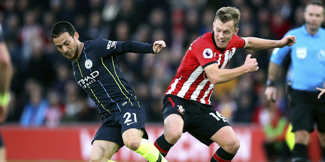 Link Live Streaming Liga Inggris : Manchester City vs Southampton