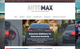 AutoMax Simple blogger template