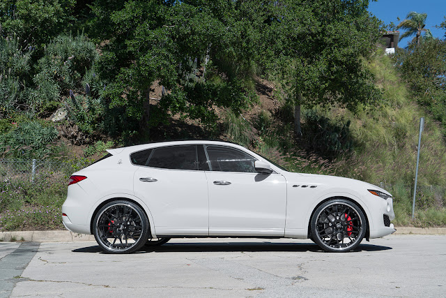 2017 Maserati Levante on Forgiato Wheels - #Maserati #Levante #Forgiato #Wheels #tuning #suv