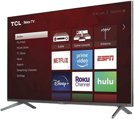 TCL 55R635: Smart TV 4K de 55'' con HDR10, control por voz y conectividad Wi-Fi 5