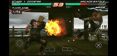 Tekken 6 psp highly Compressed