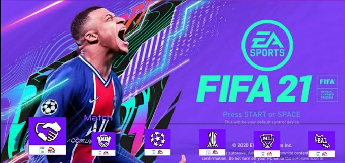 FIFA 21 ISO PS5 Camera Mod Offline For PPSSPP Android Download