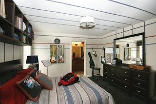 Moderno dormitorio juvenil