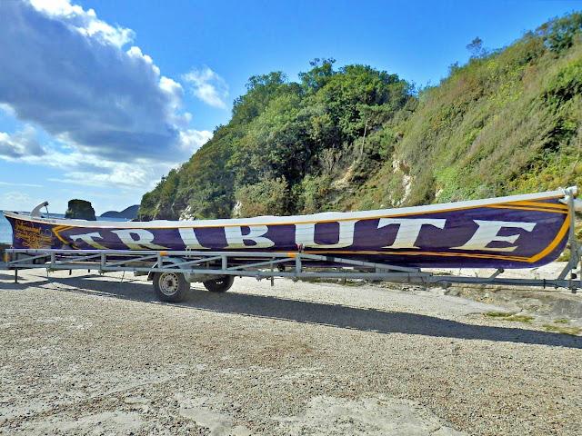 Rowing Boat at Charlestown, Cornwall