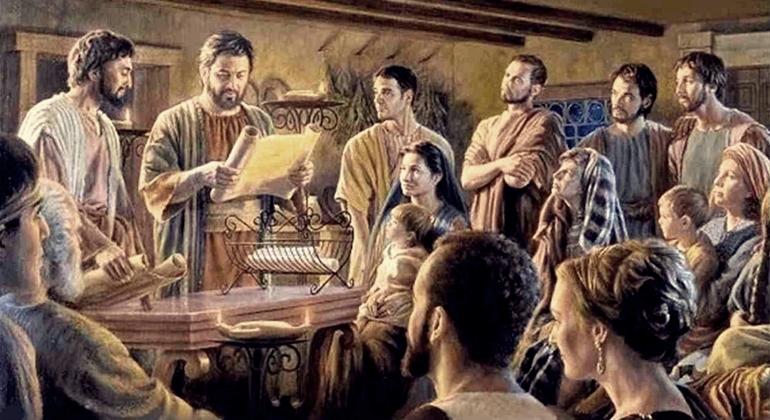 Com sua vida, Barnabé representava uma carta aberta de Cristo.