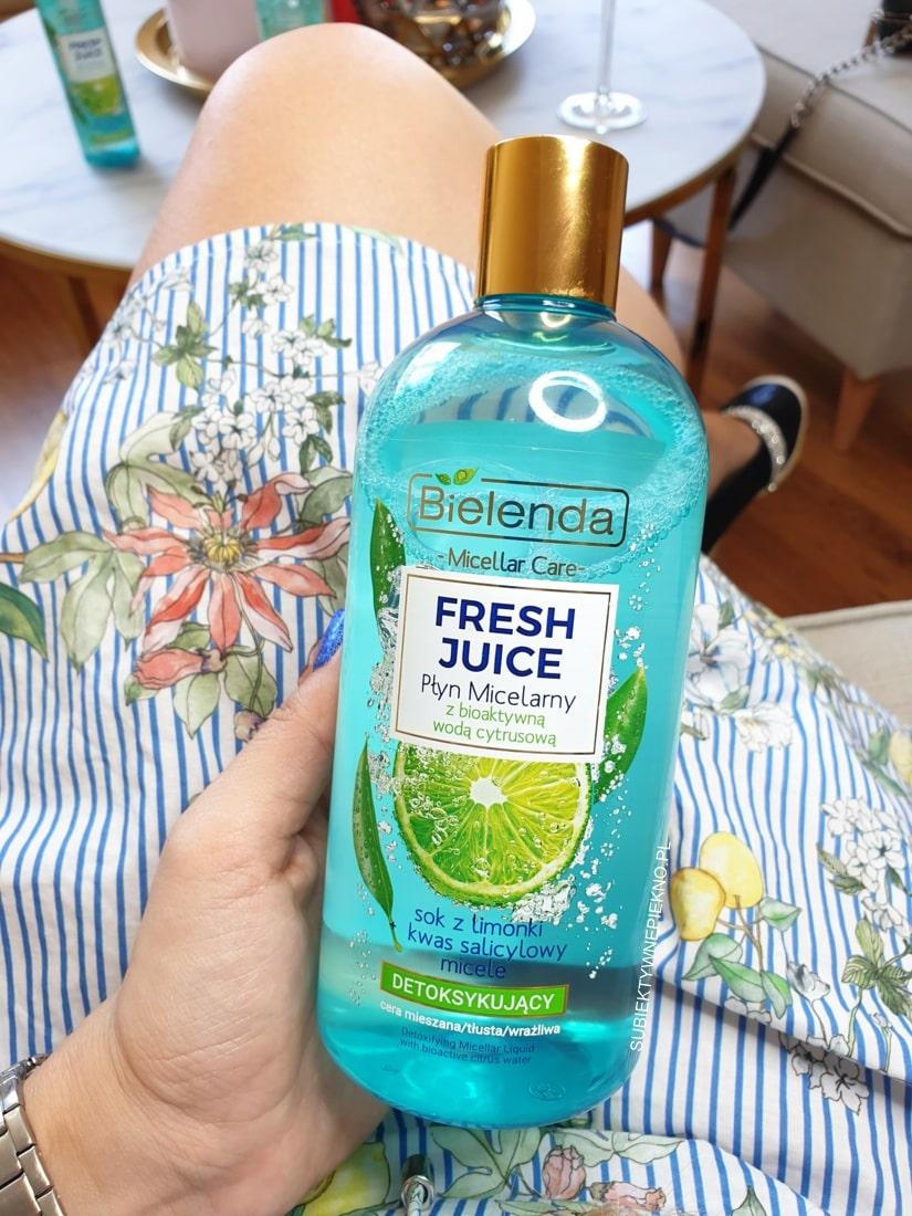 Bielenda Fresh Juice - żele i płyn micelarny | Limonka i Ananas
