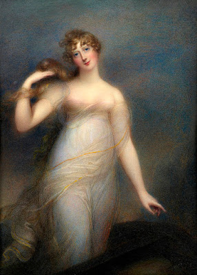 1813 Catherine, Lady Heathcote, by Anne Foldsone Mee