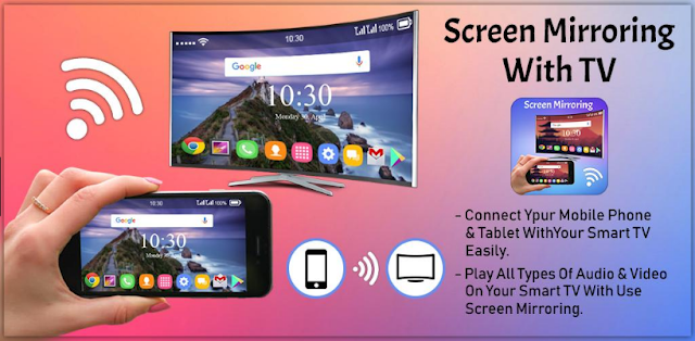 How to Connect Mobile to TV and Mirror Mobile Screen to TV Screen 2018