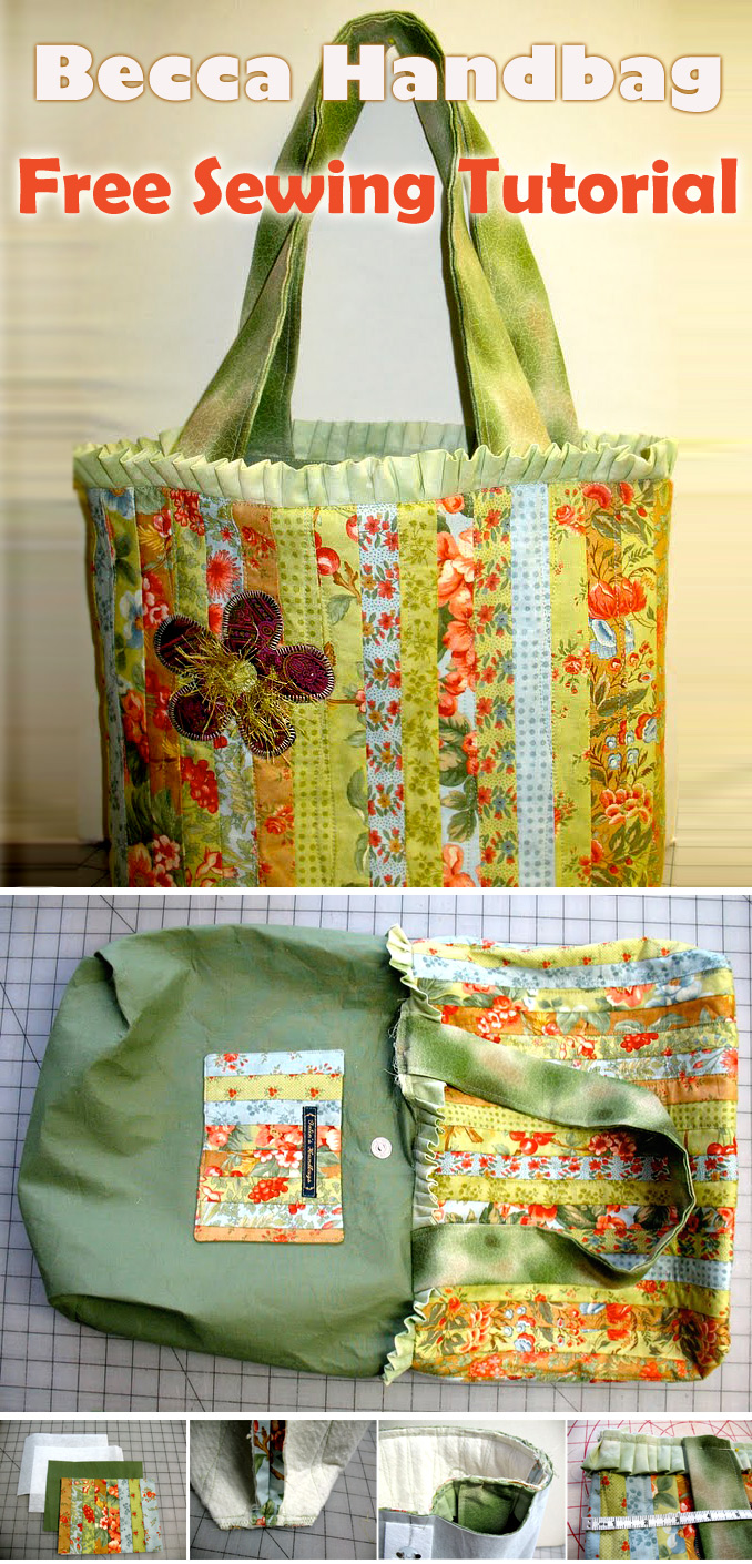 Becca Handbag – Free Sewing Tutorial