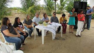 Fátima Macedo realizou evento de lançamento do cordel da casa de memória Vicente Ferreira de Macedo