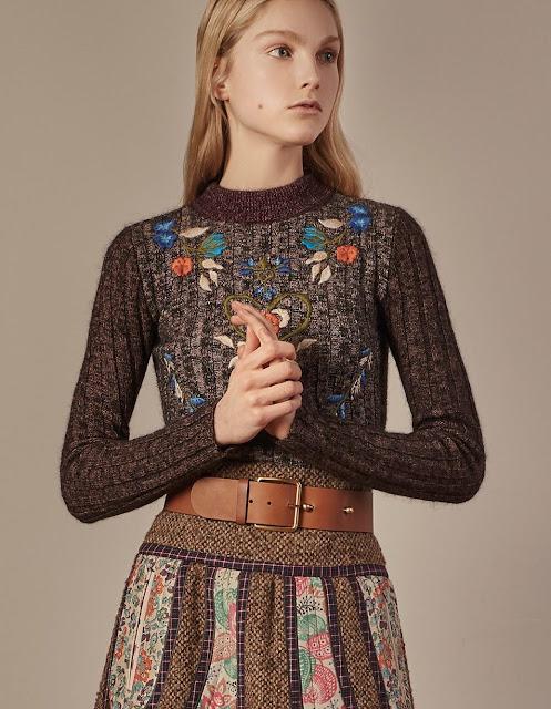 sweterki haftowane