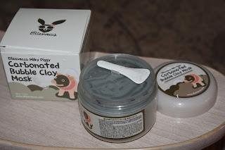Карбонатная маска для лица BIOAQUA Carbonated Bubble Clay