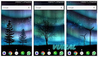 Aurora Free Live Wallpaper