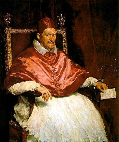 Диего Веласкес - Портрет папы Иннокентия X (ок.1650)