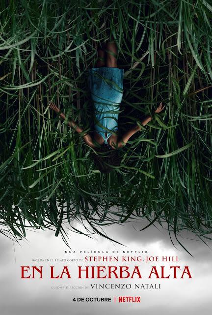 'En la hierba alta' póster