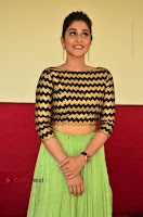 Actress Regina Candra Latest Pos in Green Long Skirt at Nakshatram Movie Teaser Launch  0104.JPG