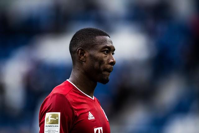Bayern Munich withdraw David Alaba's contract offer