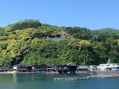 舟屋と道の駅
