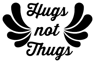 hugs not thugs embroidery applique template Charm About You