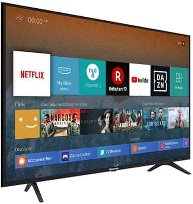 Hisense H50BE7000: Smart TV 4K de 50'' con HDR y control por voz