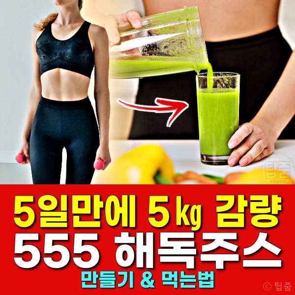 555 해독주스 만들기,해독주스 다이어트 효능 부작용 먹는법,핏더바디
