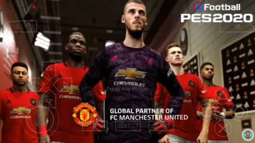 Pes 2020 Ppsspp Special Mod Licensi Of Manchester United Embuh Droid
