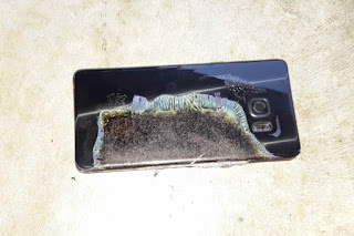 Akibat adanya Kasus Ledakan Samsung Galaxy Note 7