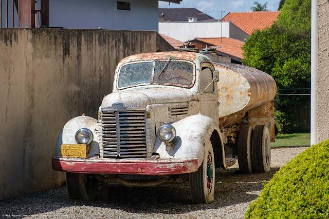 O caminhão do Sr. Humberto