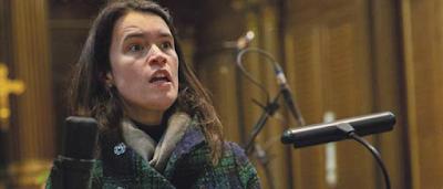 John Eccles: Semele - Helen Charlston -  recording session 2019 (Photo Luke Koch de Gooreynd)