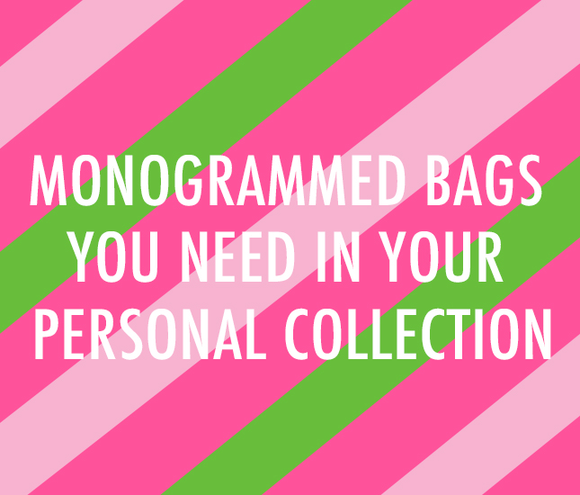 monogrammed bag buying guide