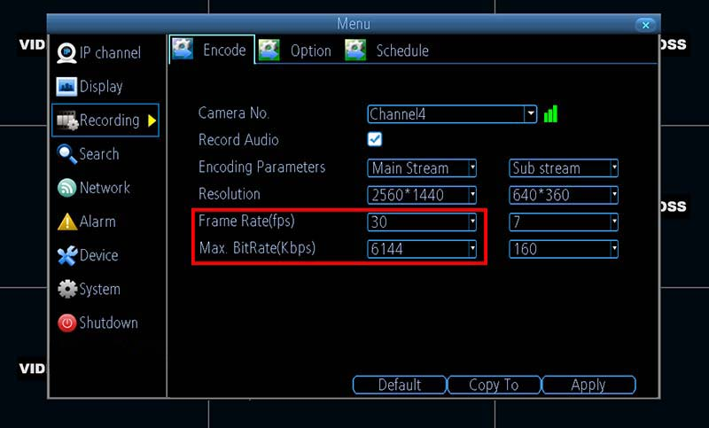 Frozen Security Cameras on the Monitor (quick fix)