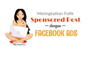 meningkatkan trafik dengan facebook ads