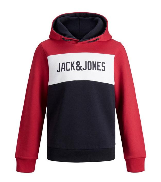 Суитшърт с качулка и лого Jack&Jones