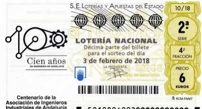 Vista de los decimos del sorteo loteria nacional del sabado